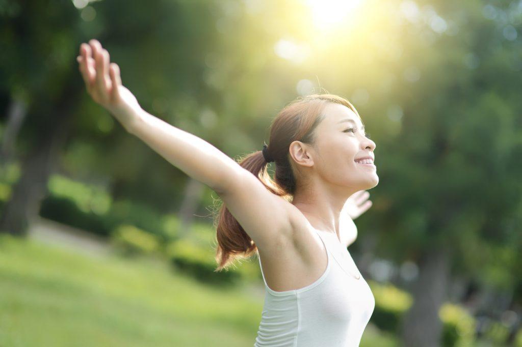 身体の不調が改善