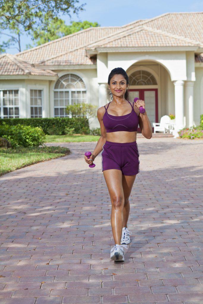 インターバル 速歩 女性