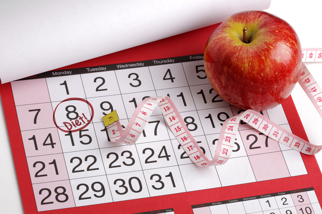 ダイエットカレンダー