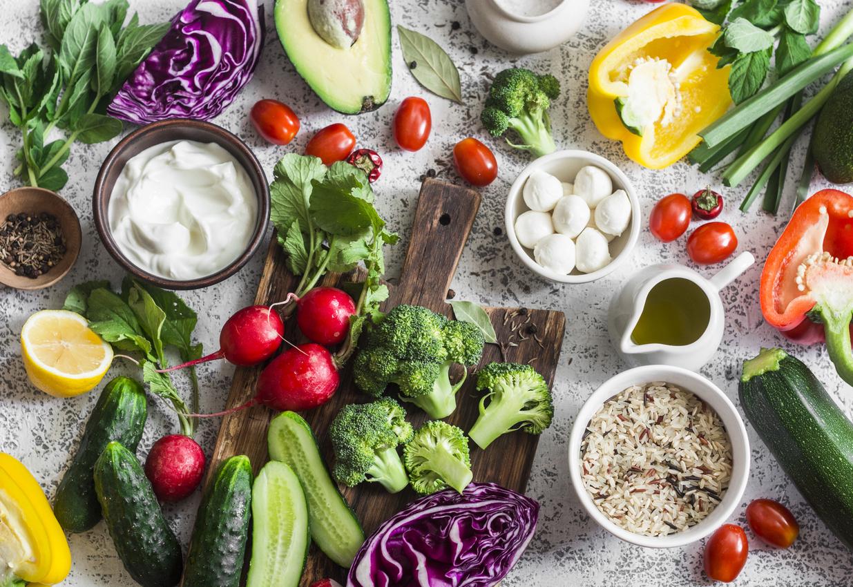 食物繊維の豊富な食材